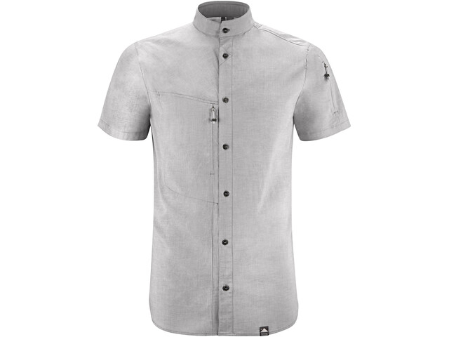 Klättermusen Lofn SS Shirt Herre grey melange